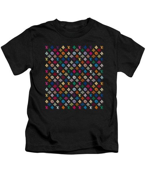 Louis Vuitton Monogram-4 Kids T-Shirt