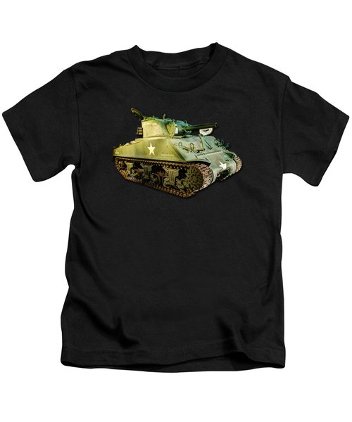 M4 Sherman Tank 2 Kids T-Shirt