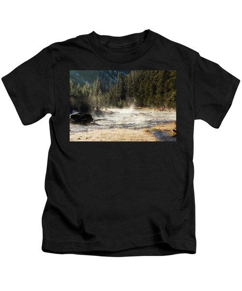 Madison River Morning Kids T-Shirt