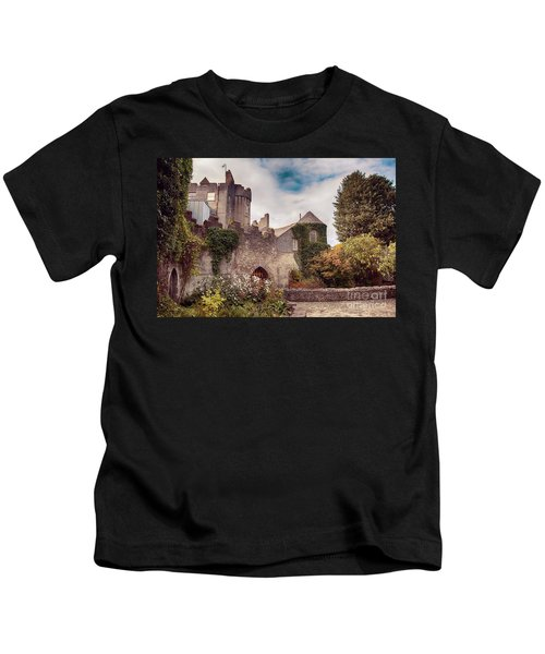 Malahide Castle By Autumn  Kids T-Shirt