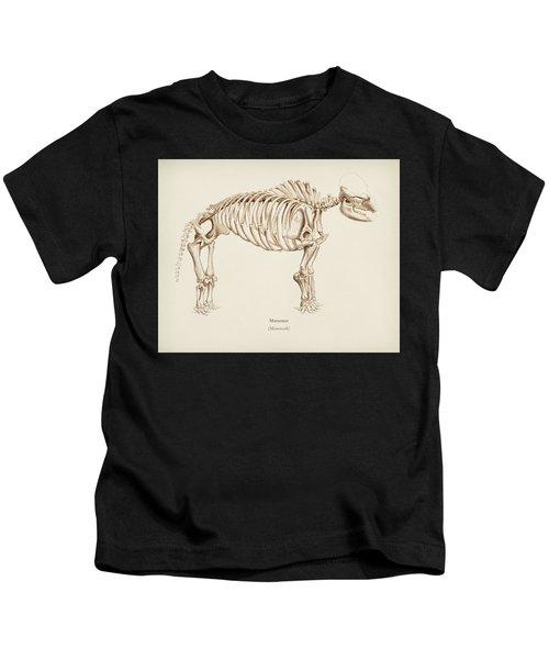 Mamoth  Mammut  Illustrated By Charles Dessalines D' Orbigny  1806-1876  Kids T-Shirt