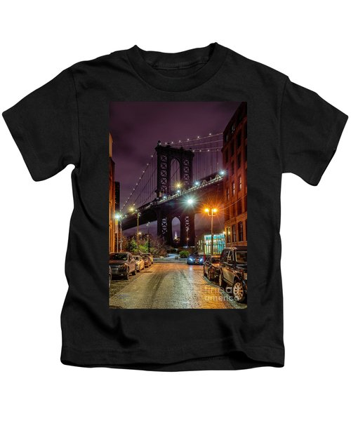Manhattan Bridge Kids T-Shirt