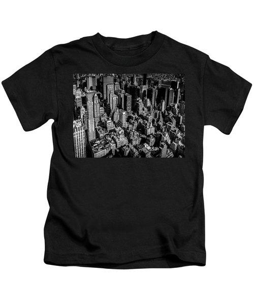 Manhattan Rooftop View Kids T-Shirt