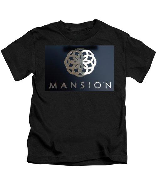 Colours. Mansion Black Kids T-Shirt