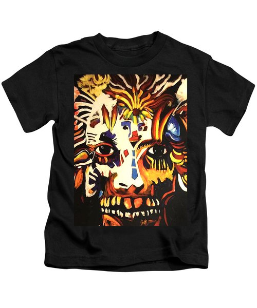 Mardi Gras Spirit 2013 Kids T-Shirt
