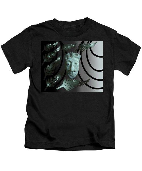 Mask The Maori Warrior Kids T-Shirt
