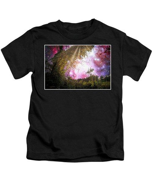 Meadow Starry Night Kids T-Shirt