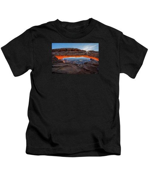Mesa Arch Sunrise 2017 Kids T-Shirt