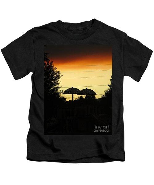 Metallic Love Kids T-Shirt