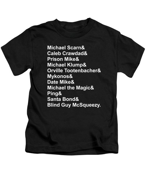 Michael Personas Kids T-Shirt