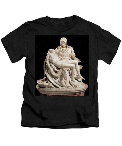 Michelangelo La Pieta Kids T-Shirt