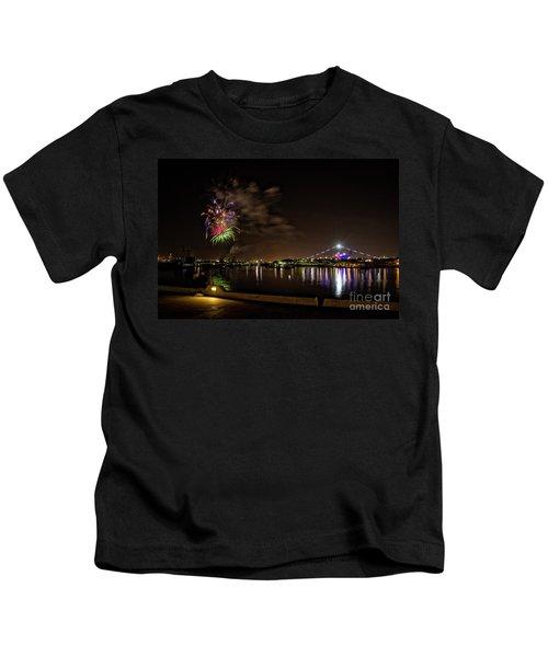 Midway Fireworks  Kids T-Shirt