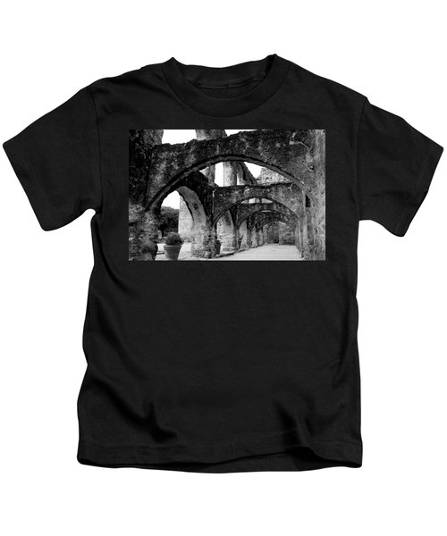 Mission San Jose Y San Miguel De Aguayo Kids T-Shirt