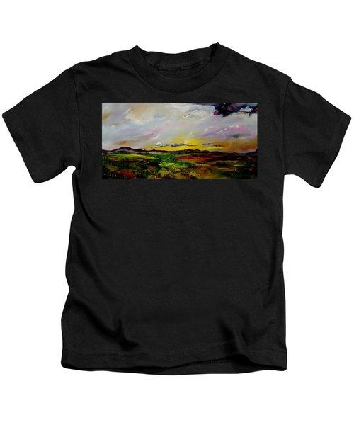Montana Summer Storms        5519 Kids T-Shirt