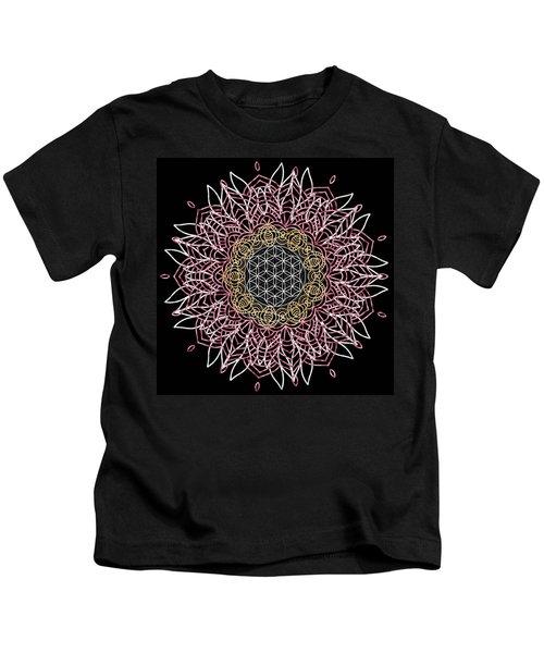 Moon Mandala Kids T-Shirt