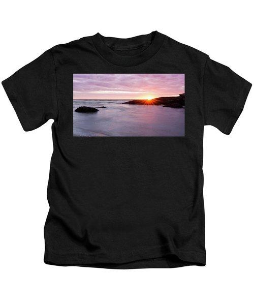 Morning Sun Good Harbor Kids T-Shirt