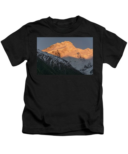 Mount Sefton Sunrise Kids T-Shirt