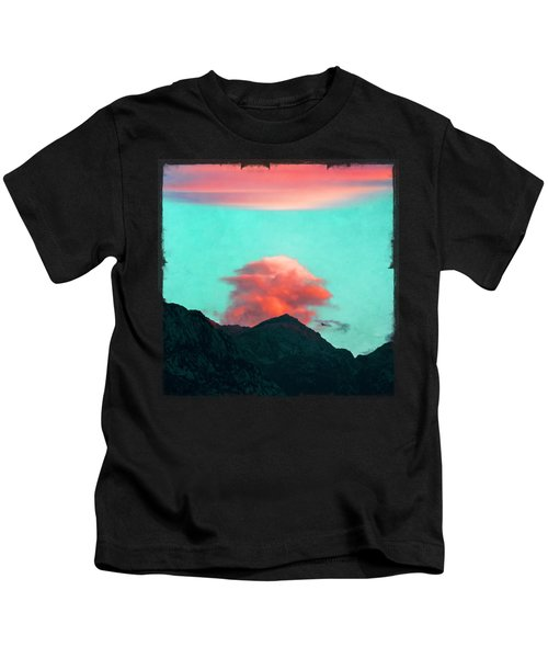 Mountain Daybreak Kids T-Shirt