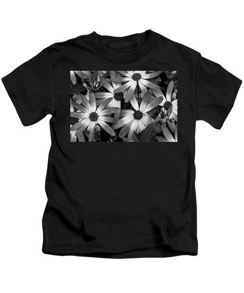 Multiple Daisies Flowers Kids T-Shirt