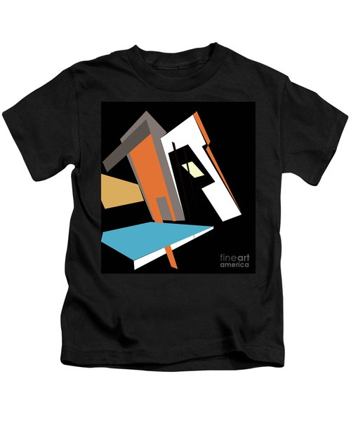 My World In Abstraction Kids T-Shirt