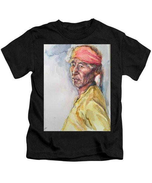 Navaho Man Kids T-Shirt