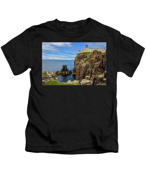 Neist Point Lighthouse Kids T-Shirt