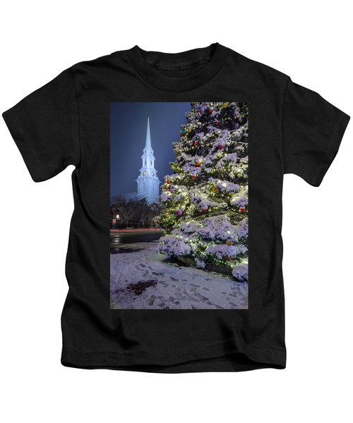 New Snow For Christmas Kids T-Shirt