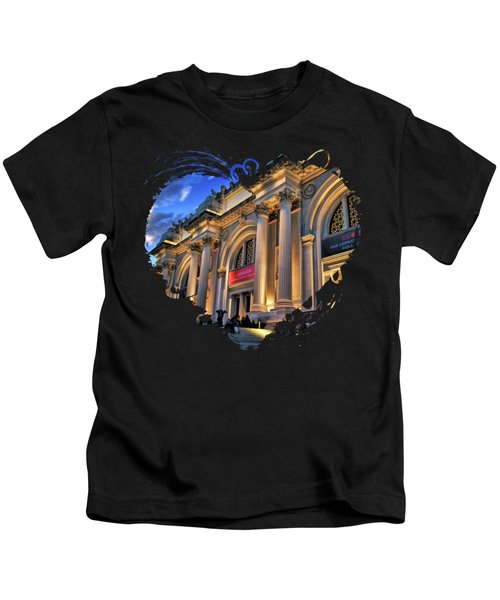 New York City Metropolitan Museum Of Art Kids T-Shirt