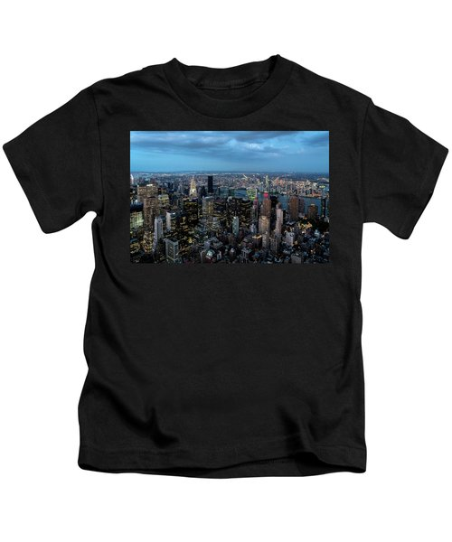 New York Skyline Kids T-Shirt
