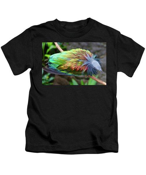 Nicobar Pigeon Kids T-Shirt