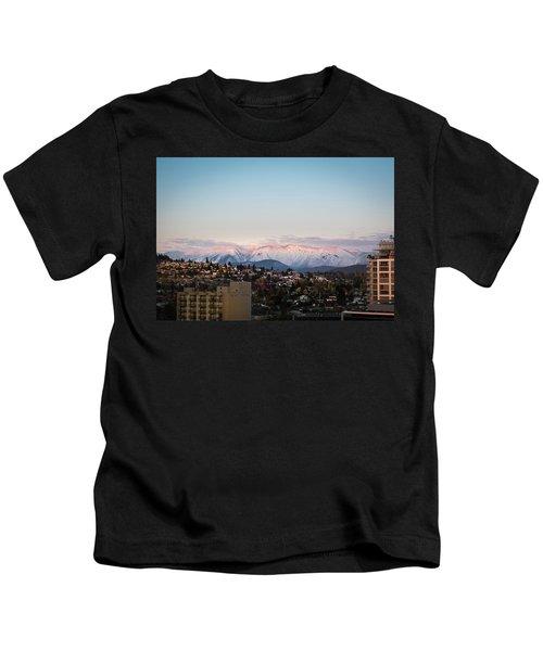 Northshore Winterscape Kids T-Shirt