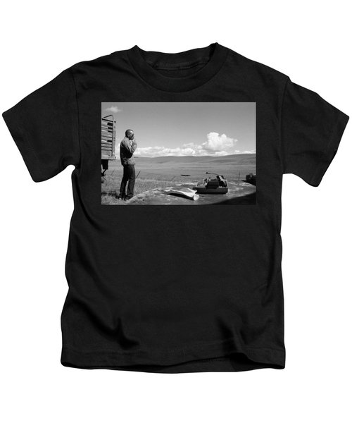 Office Of The Poet Kids T-Shirt