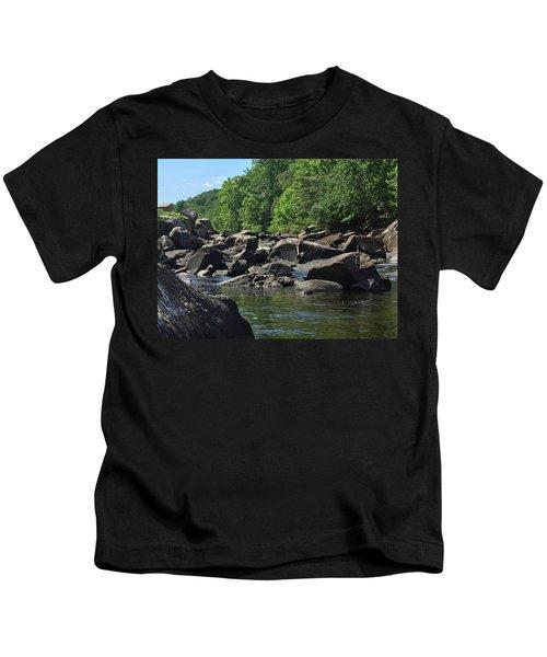 On The Occoquan Kids T-Shirt