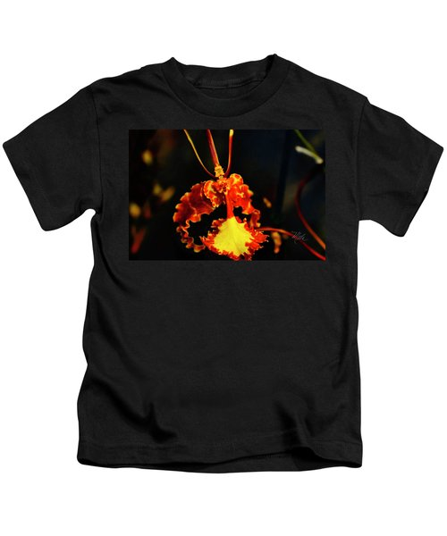Orchid Study Four Kids T-Shirt
