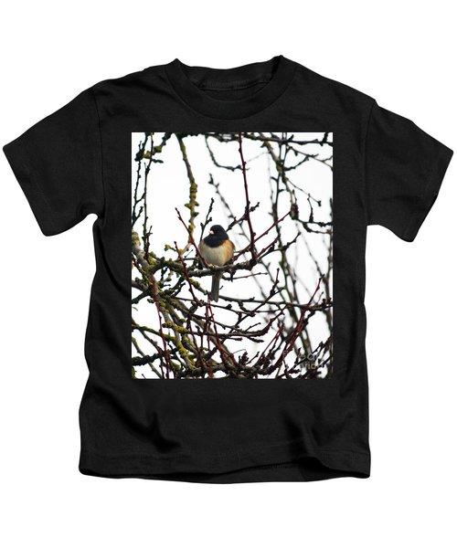 Oregon Junco Kids T-Shirt