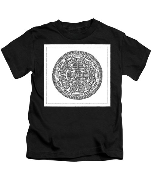 Oreo Redux White Kids T-Shirt