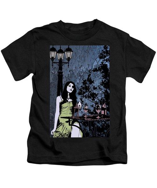 Out At Night Kids T-Shirt