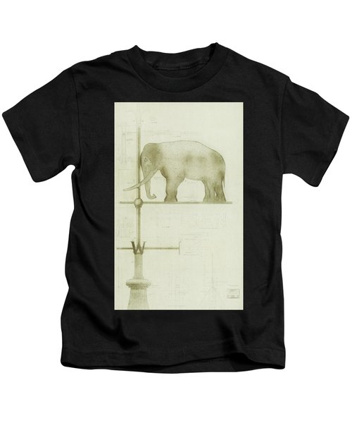 Pachyderm House, Philadelphia Zoo, Detail Of Weather Vane Kids T-Shirt