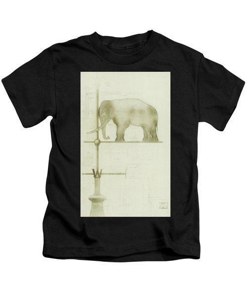 Pachyderm House, Philadelphia Zoo, Detail Of Weather Vane Kids T-Shirt