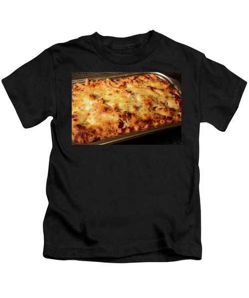 Pan Of Baked Ziti Kids T-Shirt