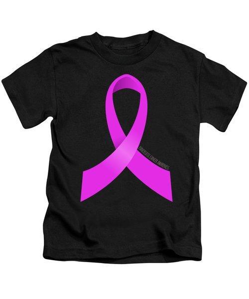 Pancreatic Cancer Awareness Ribbon Kids T-Shirt