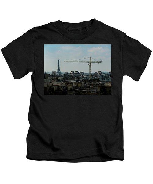 Paris Towers Kids T-Shirt