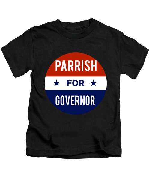 Parrish For Governor 2018 Kids T-Shirt