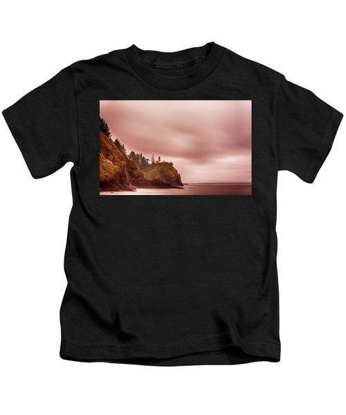 Pastel Seascape Kids T-Shirt
