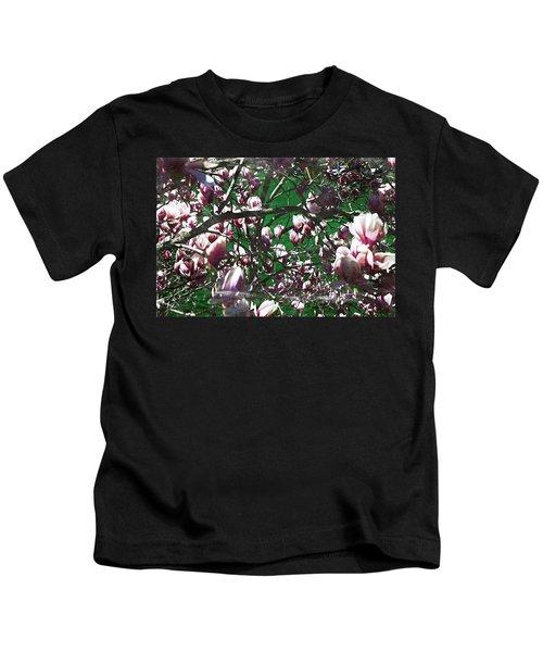 Pink Bush Kids T-Shirt