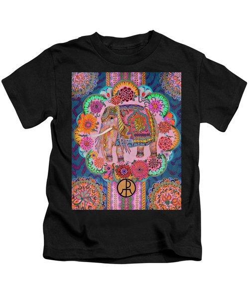 Pink Elephant Kids T-Shirt
