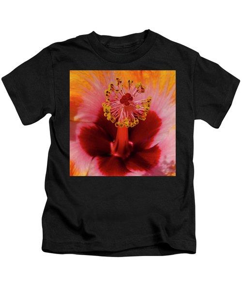 Pistol Packin' Flower Kids T-Shirt