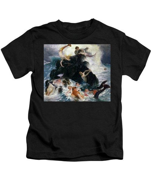 Play Of The Nereides, 1886 Kids T-Shirt