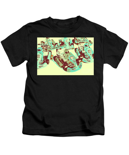 Poll Position Posterized Kids T-Shirt