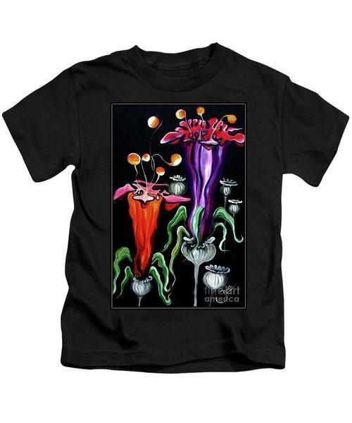 Poppies Fantasy.. Kids T-Shirt